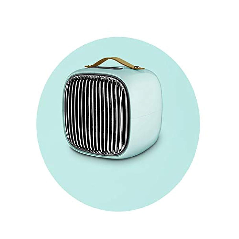 寛大さ興奮する遮るDGLIYJ 小型ヒーター、ミニホームオフィスデスクトップヒーター、800W省エネと迅速な暖房 (Color : C)