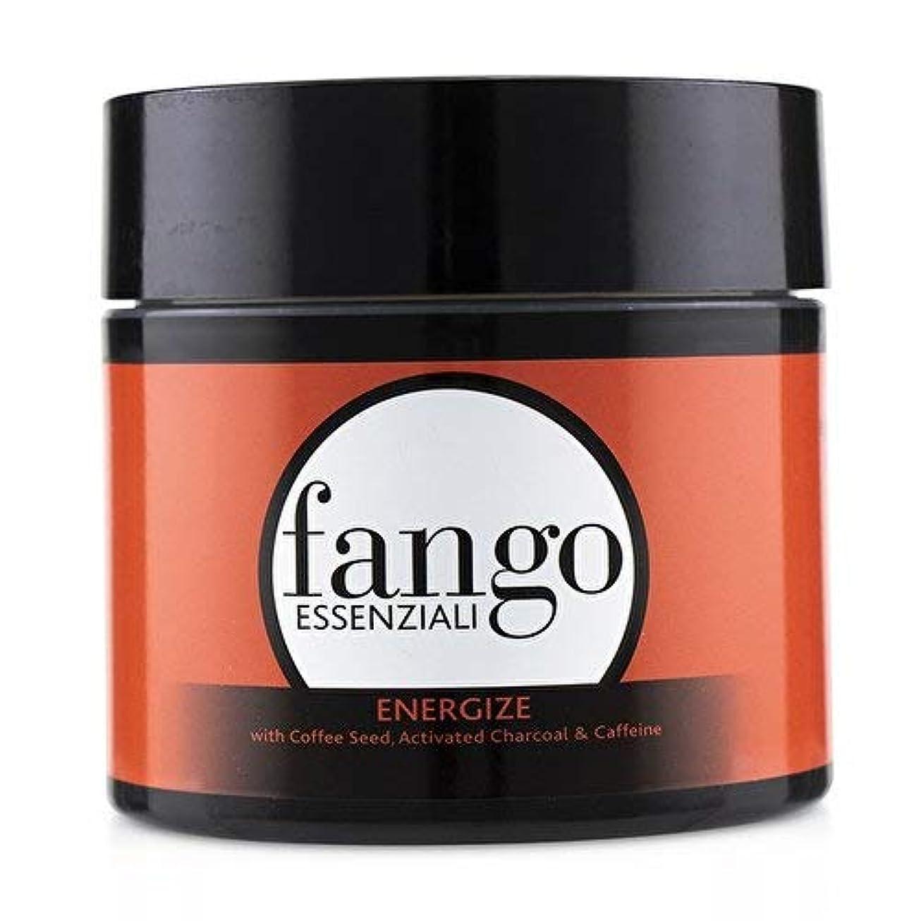 フィルタ自分の力ですべてをする大学生ボルゲーゼ Fango Essenziali Energize Mud Mask with Coffee Seed, Activated Charcoal & Caffeine 198g/7oz並行輸入品
