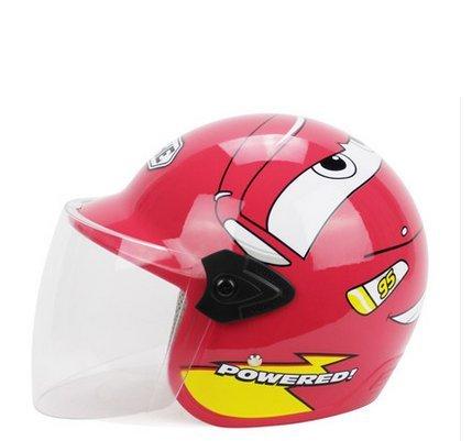 TTC 子供用ヘルメット 12カラー ジェットヘルメット 半...
