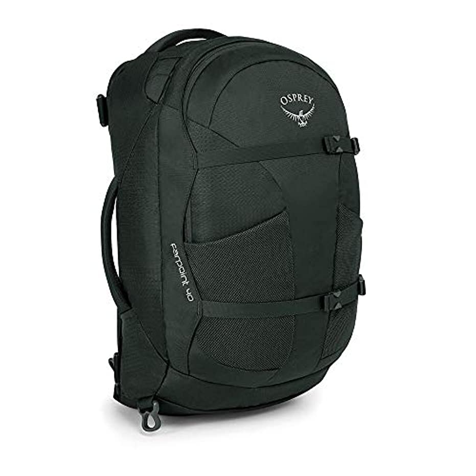 エコー干し草革命[オスプレイ]Osprey Farpoint 40 Travel Pack デイパック VOLCANIC GREY S/M [並行輸入品]