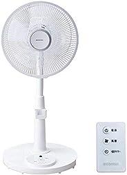 IRIS OHYAMA 爱丽思欧雅玛 电风扇 摆动 风量3档 带遥控器 带定时功能 5扇叶/7扇叶 透气 白色 PF-301RA-W/PF-M302RA-W/LFA-306, 白色