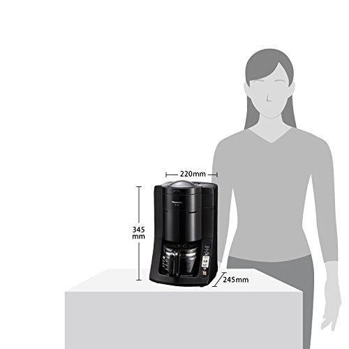 パナソニック 沸騰浄水コーヒーメーカー 全自動タイプ ブラック NC-A56-K