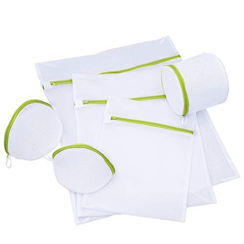 洗濯ネット ランドリーネット 洗濯袋セット ドーム型ブラジャーネット 旅行袋 収納袋 6枚セット 絡み防ぎ 角型ドーム型 円筒型 旅行 出張 整理用