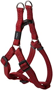 Rogz Snake Step-in Harness Red Med