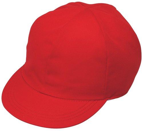 クツワ STAD メッシュ赤白帽子 KR002