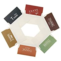 6セット 感謝カード thank you カード ありがとうカード メッセージカード 母の日 誕生日 多色選べる - #6