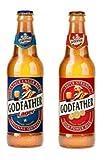 GOD FATHER(ゴッドファーザー) ゴッドファーザープレミアムラガー(2本)&スーパーストロングプレミアムビール(2本)★4本ボトル(330ml)