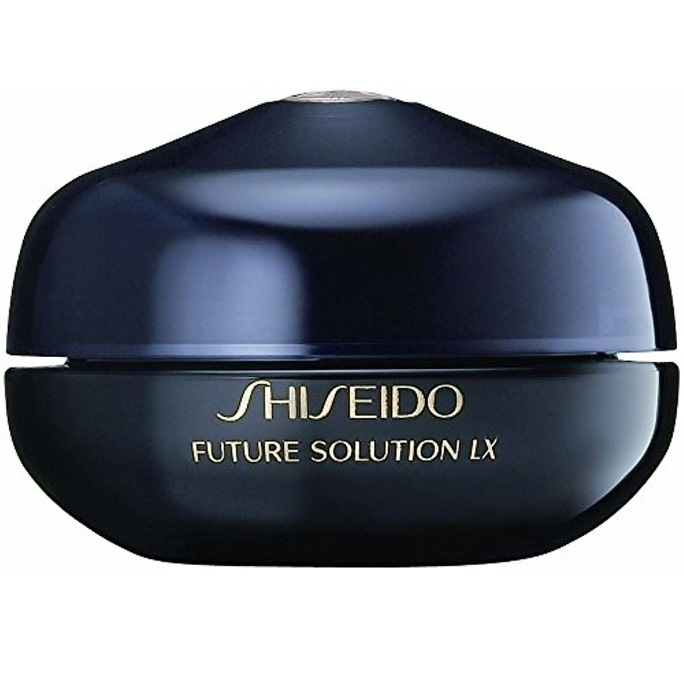 インシデント攻撃麦芽[Shiseido] 資生堂フューチャーソリューションLxの目と唇の輪郭再生クリーム15Ml - Shiseido Future Solution Lx Eye And Lip Contour Regenerating Cream 15ml [並行輸入品]