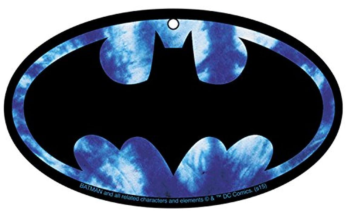障害者さようなら固執Air Freshener DC Comics Batman Tie Dyeロゴ