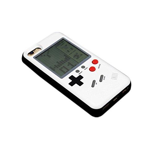 テトリス ゲームボーイ風 カバー ケース iPhone7 Plus/iPho...