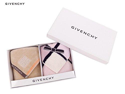(ジバンシイ)GIVENCHY タオルハンカチ2枚セット ギフトBOX GIV009