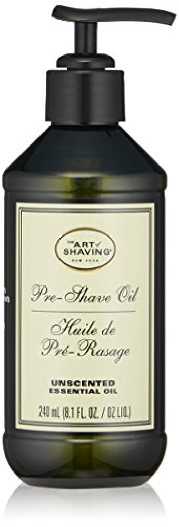 頭痛分析的煙アートオブシェービング Pre-Shave Oil - Unscented (With Pump) 240ml/8.1oz並行輸入品
