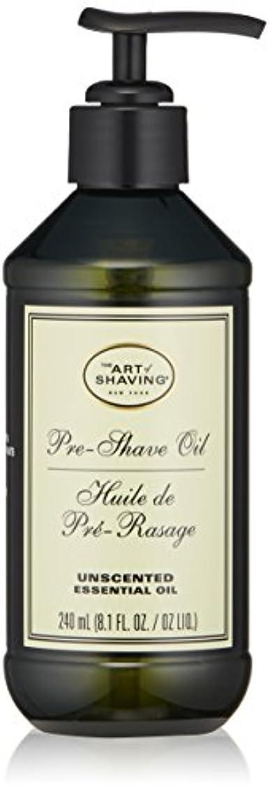ジレンマ牧草地暴露アートオブシェービング Pre-Shave Oil - Unscented (With Pump) 240ml/8.1oz並行輸入品