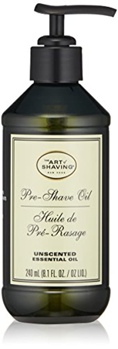 確率ショット劇的アートオブシェービング Pre-Shave Oil - Unscented (With Pump) 240ml/8.1oz並行輸入品