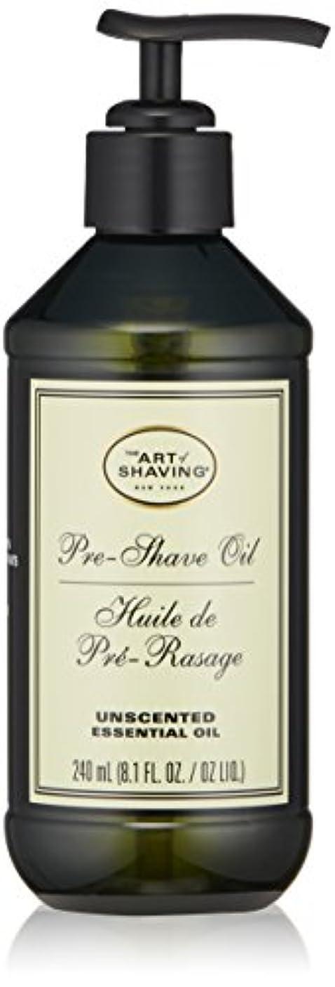 勝つレイプ粘着性アートオブシェービング Pre-Shave Oil - Unscented (With Pump) 240ml/8.1oz並行輸入品