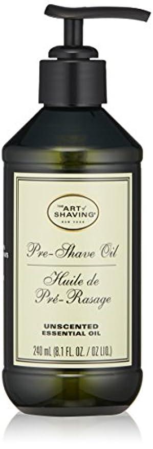 ライオンエスニックデータベースアートオブシェービング Pre-Shave Oil - Unscented (With Pump) 240ml/8.1oz並行輸入品