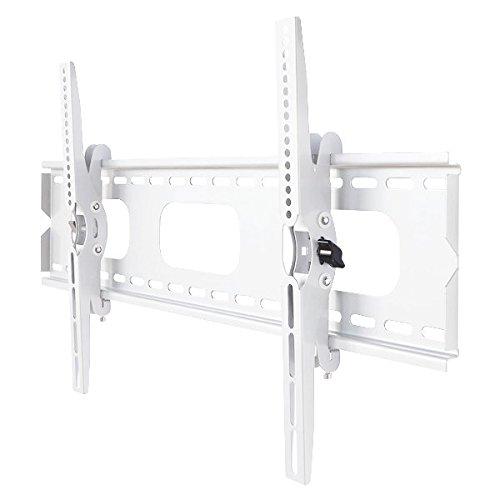 Aceofparts 液晶テレビ壁掛け金具 37-65インチ対応 上下角度調節 ホワイト PLB-ACE-117MW 【中型テレビ壁掛け】