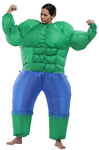 着ぐるみ インフレート ハロウィン衣装 空気玩具 全身タイツ コスプレ 大人用 膨らみ 人形 ファン付き Inflatable