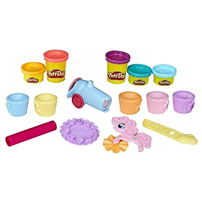 Play Doh - My Little Pony - Pinkie Pie Cupcake Party inc 5 Tubs, Frosting Cannon & Accessories
