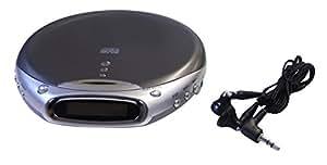 ポータブルCDプレーヤー コンパクトCDプレーヤ 液晶ディスプレイ搭載 CD CD-R/CD-RW 音飛び防止(アンチショック)機能 CD-510F 国内メーカー保証1年間付