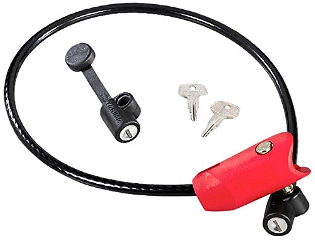 大砲保存コミュニケーションコアとヤキマデッドロックヒッチマウントバイクラックバイクロック