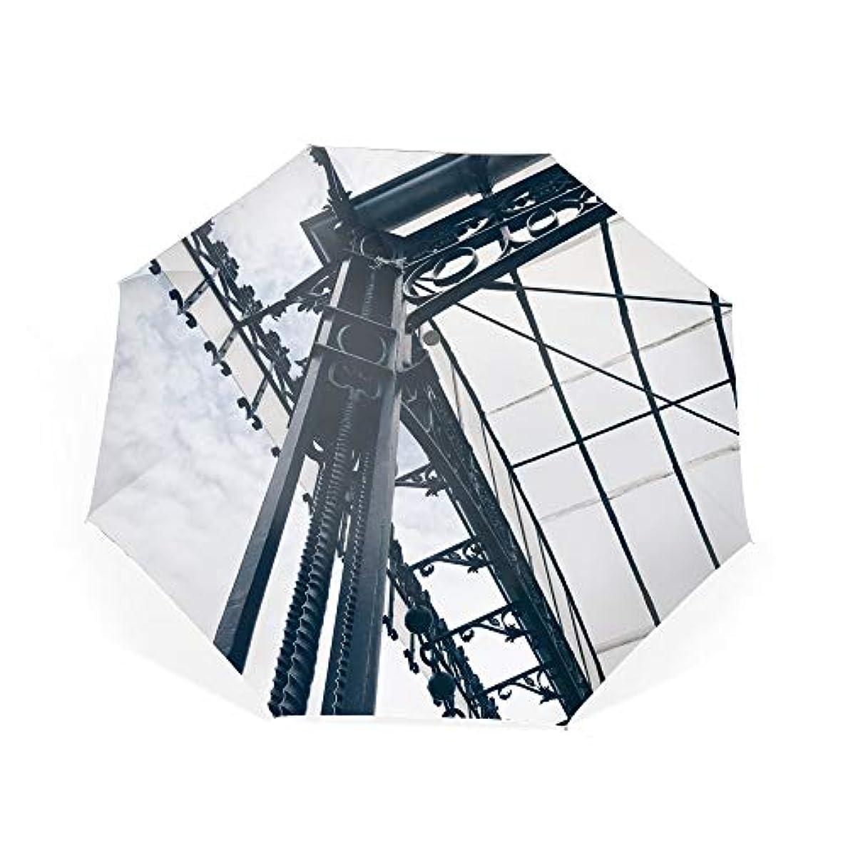 太字無許可水族館折りたたみ傘 抽象メタルスカイホワイト 日傘 晴雨兼用 遮光 遮熱 UPF50 UV 紫外線 99% カット 大型 88cm レディース 8本骨