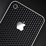 SGP アイフォン 4 スキンガード 【 CUBE BLACK 】 液晶保護シートセット for iPhone 4