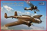 IBG 1/72 ポーランド空軍 PZL37Bロシュ爆撃機 + PZL P11A戦闘機セット 1939年9月 プラモデル PB72528