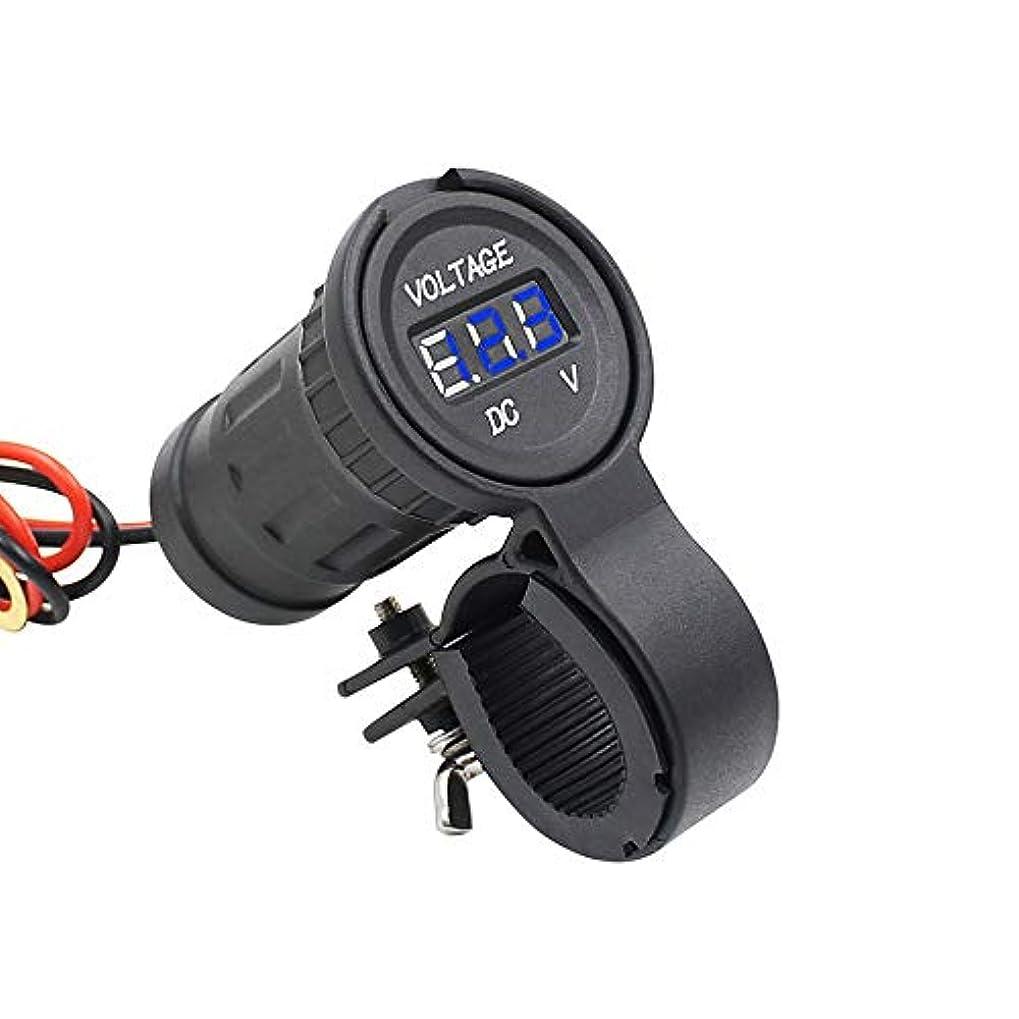 マートモジュールパウダーLuani 車およびオートバイの電圧計は固定版12-24V DCの入力電圧が付いているDcの電圧計の導かれたデジタル表示装置を修正しました