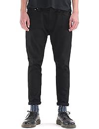 (ヌーディージーンズ)Nudie Jeans Nudie Jeans BRUTE KNUT DRY COLD BLACK ストレッチ ブラックデニム メンズ