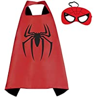 Marvel Comicsコスチューム – Spiderman Cape and Mask withギフトボックスbyスーパーヒーロー