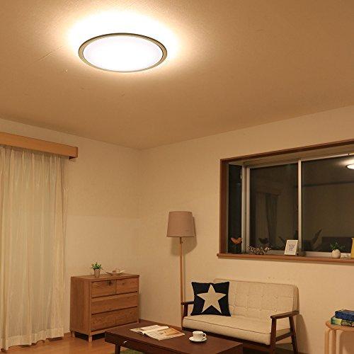 アイリスオーヤマ LED シーリング 調光 調色 タイプ ~8畳 ナチュラル CL8DL-5.0WF-U