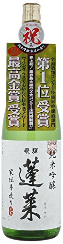 純米吟醸 家伝手造り 1.8L