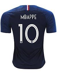 サッカー2018  フランス代表 ユニフォーム 上下セット MBAPPE 背番号10 MBAPPE 子供用 (子供XL,MBAPPE) (XL)