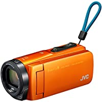 JVCKENWOOD JVC ビデオカメラ Everio R 防水 防塵 Wi-Fi 64GB サンライズオレンジ GZ-RX670-D