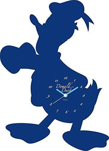 Disney 壁掛け時計 ディズニーアクリルウォールクロック アナログ表示 ドナルドダック 734009