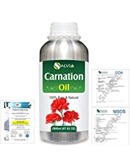 Carnation (Dianthus caryophyllus) 100% Natural Pure Essential Oil 2000ml/67 fl.oz.