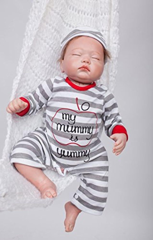 So Truly Real Lifelike人形Rebornベビーガール新生児Fake Premie眠って、19インチ