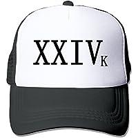 四葉のグローバー メンズ レディース XXIVK 24k 24Kマジック ベースボールキャップ Black