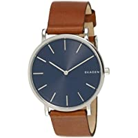 SKAGEN Men's SKW6446 Year-Round Analog-Digital Quartz Brown Band Watch