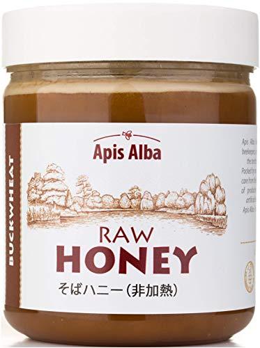 【Amazon.co.jp限定】 蕎麦蜂蜜 はちみつ ハチミツ 生 そば 蕎麦 ソバ 624g Buckwheat Raw Honey 624g