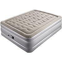 Sable エアーベッド ダブルサイズ (203×138×高さ48cm) 電動ポンプ内蔵 空気ベッド エアーマット 高反発 宿泊客 お昼寝 コンパクト スペース活用 SA-HF005