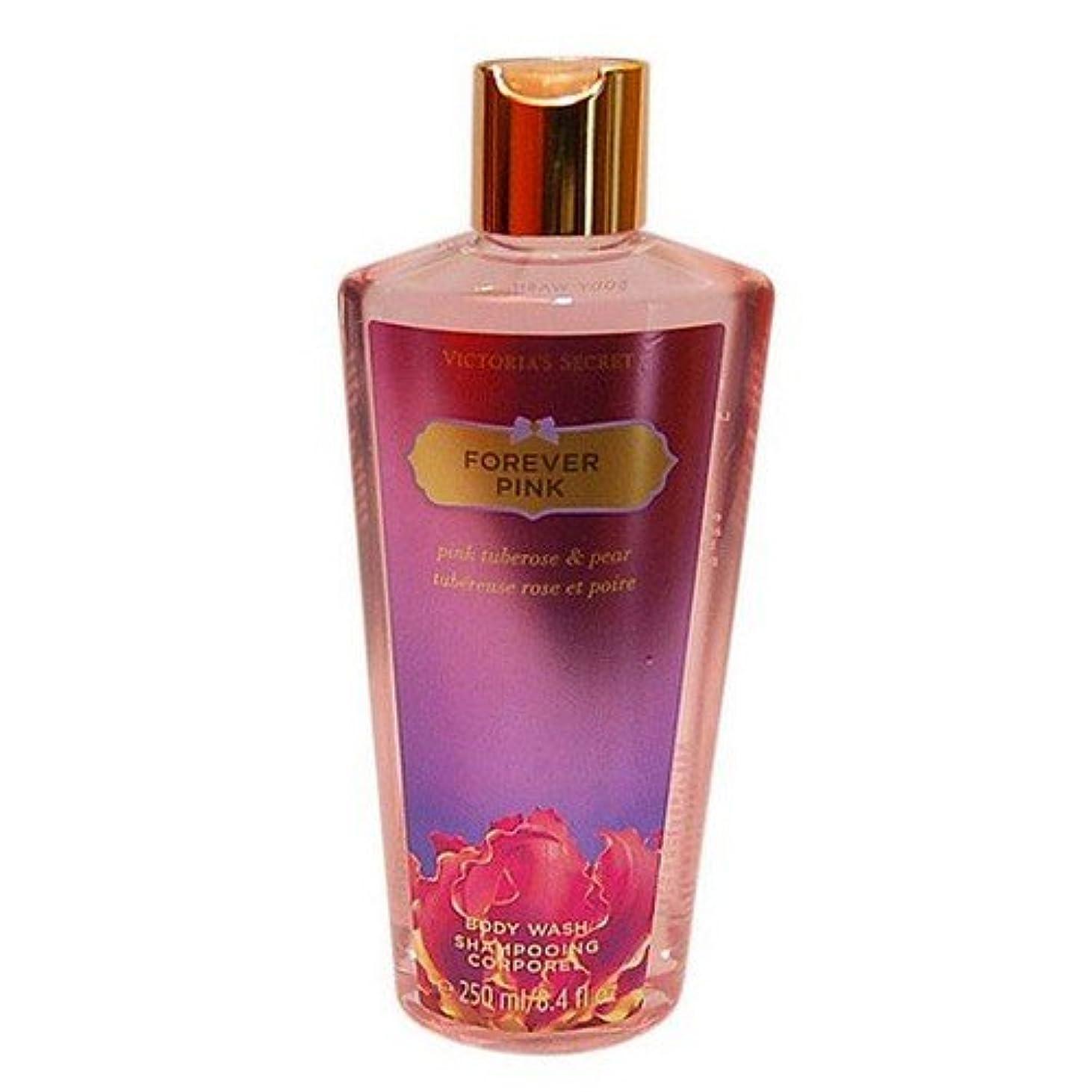大胆な甘味シャンパンVictoria's Secret Forever Pink Tuberose & Pear for Women Body Wash, 8.4 Ounce by Victoria's Secret