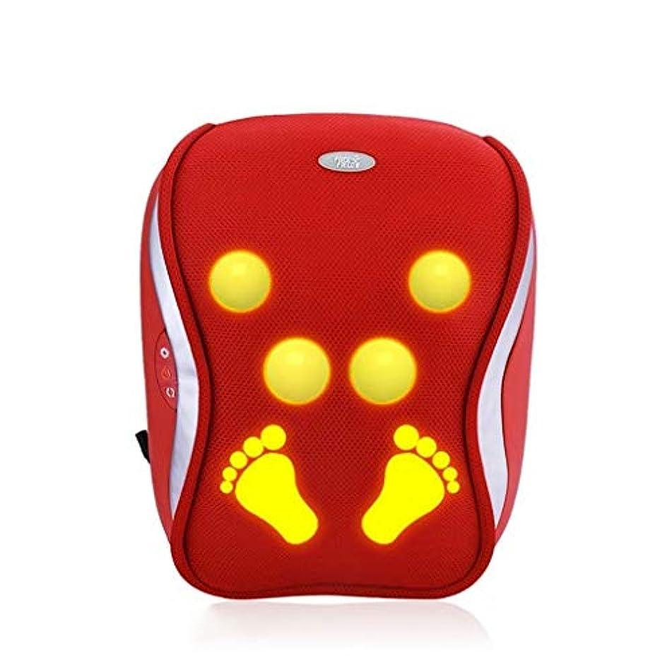 差し迫った提供されたフィードマッサージャー、首/背中のマッサージ枕、電動マッサージクッション、首のための加熱されたディープニーディングマッサージ枕、ウエスト、肩、筋肉痛を和らげる