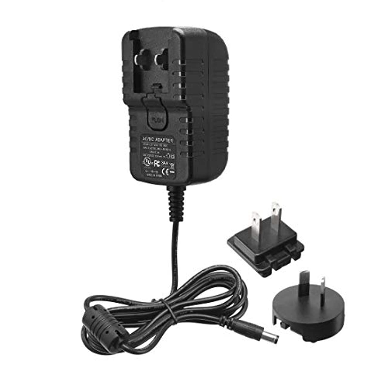 それら検索白鳥eDealMax米国AUプラグDC 12V 1A 12Wオス2.1 x 5.5mm DCプラグ主電源アダプター用LEDライトワイヤレスルーターLCD CCTVカメラ