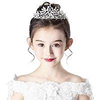 Tiara Kids Crown Headdress Crown Crystal Headband Child Birthday Catwalk Show Hair Accessories