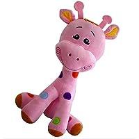 HuaQingPiJu-JP ぬいぐるみ40cmソフトディアシミュレーションぬいぐるみコレクション玩具ラブリードール子供ギフト(ピンク)
