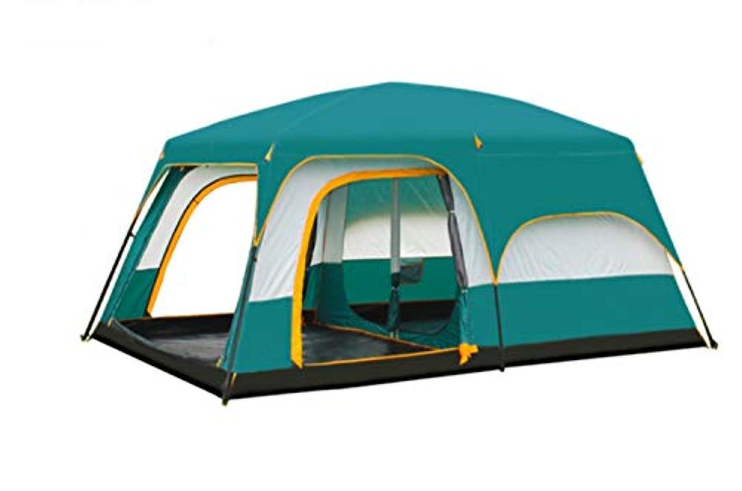 自体家庭求人LYgMV 2ベッドルーム、1ホール、テント、屋外キャンプ、6人、8人、10人、12人、2部屋、多人数用テント