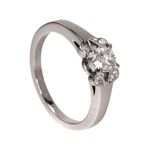 CARTIER(カルティエ) 4.2g バレリーナ ダイヤモンド リング・指輪 プラチナPT950 レディース (中古)