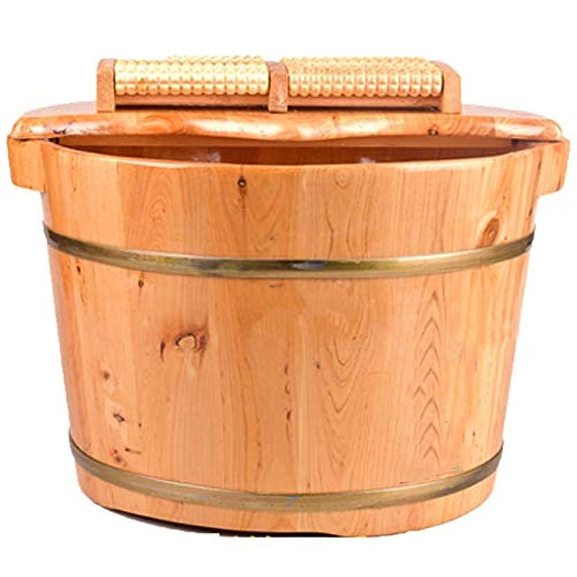 必要とする普通に近所のペディキュア盆地,軽量の木製家庭の木製の樽の足湯バスソリッドウッドの木管大人のトランペット